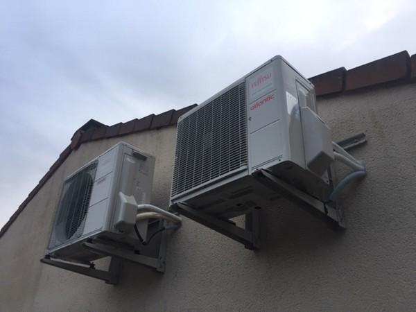 Installation d'une pompe à chaleur à Rochetrejoux en Vendée